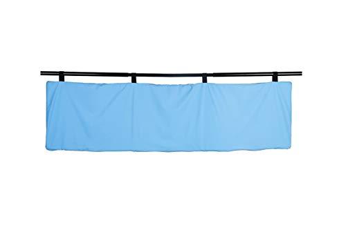 PimPam Factory - Protector barandilla Cama 40X160 cm | Fabricado en España | Tejido de poliéster y Poliuretano inducido | Diseñado para Proteger de Cualquier Golpe | Higiénico y Lavable