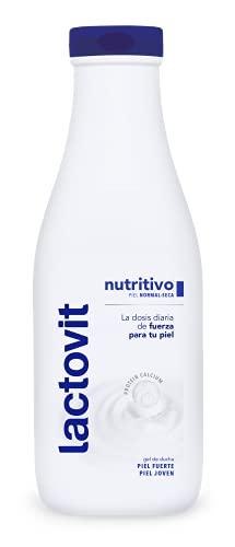 Lactovit - Gel de Baño, Gel Nutritivo, Delicado y...