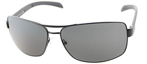 Prada Linea Rossa 0PS 54IS, Gafas de Sol para Hombre, Negro (Matte Black Rubber), 65