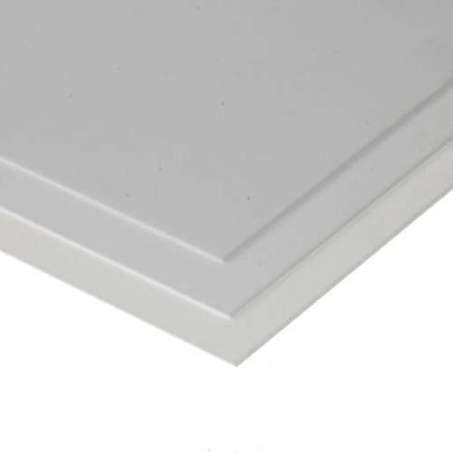 evergreen 9020 - Polystyrolplatte, Spiel, 150 x 300 x 0.50 mm, 3 Stück, weiß