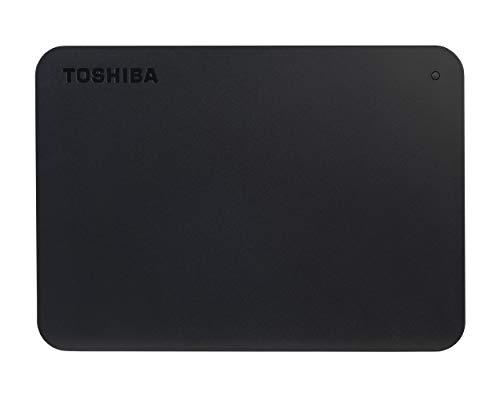 Toshiba Canvio Basics, 1 TB, Portable Externe Festplatte, USB 3.2. Gen 1, Schwarz (HDTB410EK3AA)