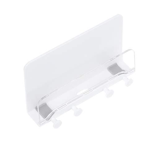 TOPBATHY - Soporte de Pared para teléfono con Colgador, para el Cuarto de baño o el Dormitorio