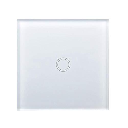 pequeño y compacto Interruptor de luz Haobing con pantalla LED Pantalla táctil de pared Reino Unido / UE …