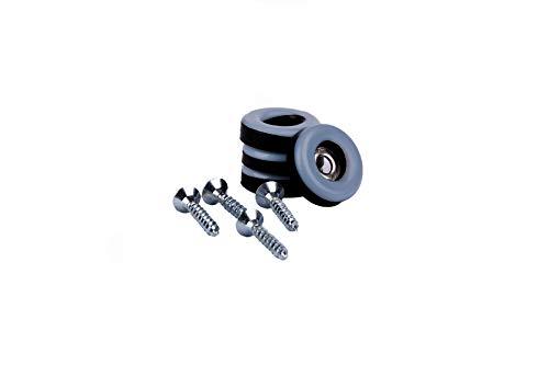 Lot de 16 patins de protection pour meuble-En téflon-Ø 19 mm x5mmd'épaisseur avec vis de 3,5mmx20mm -Revêtement en PTFE