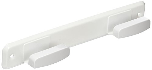 Brinox Porte-Manteau 24x4x3 cm Laqué Blanc