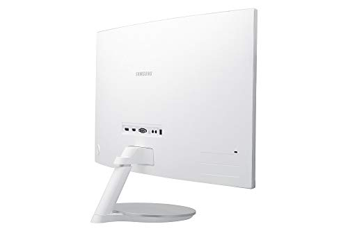 Samsung C27F591F 68,6 cm (27 Zoll) Monitor (HDMI, 4ms Reaktionszeit, 1920 x 1080 Pixel), silber/weiß - 8