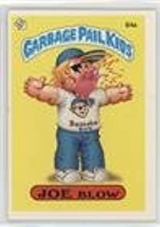 Joe Blow (One Star Back, Barber) (Trading Card) 1986 Topps Garbage Pail Kids Series 3 - [Base] #84a.1