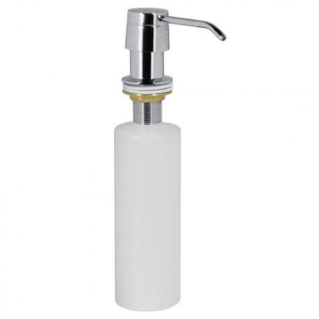 Tres Griferia - Dispensador De Jabón Metálico Para Encastrar En Encimeras. Capacidad 0,4Litros (13474110)