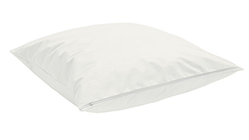 TAURO 24147 Kissen-Bezug, Encasing Milbenkotdicht 80 x 80 cm, Milbenschutz für Hausstauballergiker