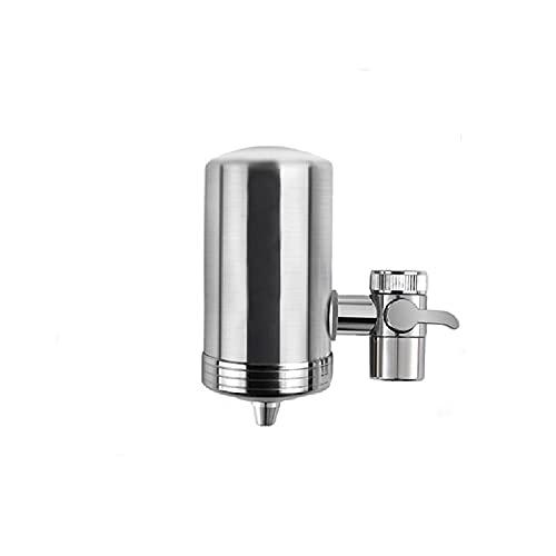 Filtro de agua del grifo, elimina impurezas, cloro?fácil instalación: se adapta a todos los grifos estándar (Ceramic filter,One)