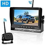 LeeKooLuu LK5 HD 960P Digital Wireless Backup Camera with 7''Monitor Highway Observation System for RVs,Trucks,Motorhomes,Travel Trailers Hitch Rear View Camera Super Night Vision DIY Guide Lines