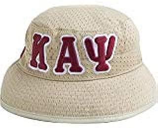 Kappa Alpha Psi Big Letter Floppy Bucket Mesh Hat