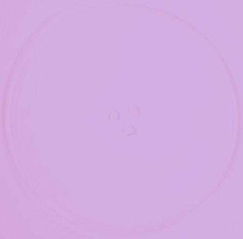 Mikrowellenteller / Drehteller / Glasteller für Mikrowelle # ersetzt Mda Mikrowellenteller # Durchmesser Ø 34 cm / 340 mm # Ersatzteller # Ersatzteil für die Mikrowelle # Ersatz-Drehteller # OHNE Drehring # OHNE Drehkreuz # OHNE Mitnehmer