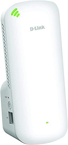 D-Link DAP-X1860 AX1800 Mesh Wi-Fi 6 Range Extender (WLAN Booster, Repeater, Hotspot mit Gigabit Port, MU-MIMO, OFDMA, WiFi EasyMesh, WLAN Signalanzeige, Plug and Play, WPS, WPA3)
