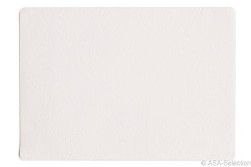 ASA Selection Tischset 33x46cm in Lederoptik weiß (4 Stück)