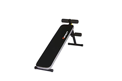 Athlyt Foldable Weight Bench Adjustable Height, Sit Up Bench Ab Trainer be used for Abdominal Exercise, Weightlifting, Sit-up and other Indoor Exercise