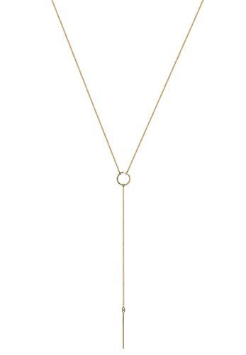 Elli Halskette Y-Kette Geo Trend Minimal 925 Sterling Silber