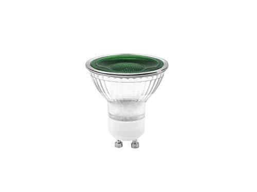 Omnilux GU-10 230V LED SMD 7W grün Leuchtmittel | Speziallampe für Show-Effekte