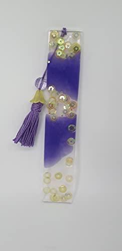 Segnalibro Handmade, in resina, 14 x 2,5 regali ideali per bambini e studenti, uffici, scuole.