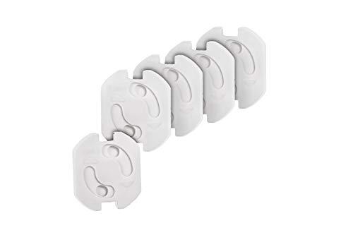 Colico 20x Kindersicherung für Steckdose mit Drehmechanik - Steckdosenschutz Steckdosensicherung Baby Kleinkinder (20 Stück)