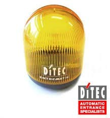 LAMPH DITEC Lámpara destellante de señalización 24V DC para puerta automatica de garaje