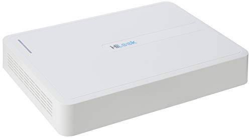 HiLook by Hikvision NVR-108H-D/8P 8 Canali 1080P IP Network NVR PoE Network Video Recorder H.265+ Bianco (senza HDD)