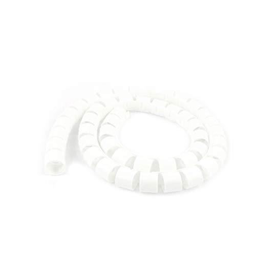 X-DREE 10mm x 1 metro espiral envoltura organizador de cable envoltura de...