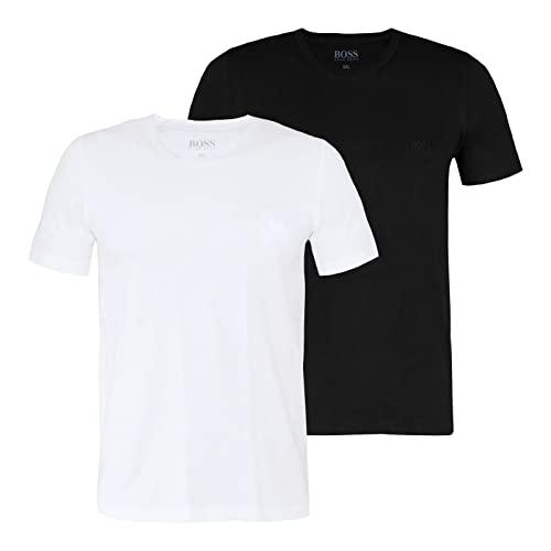 BOSS T-Shirt 2P BT RN Camiseta, Open Miscellaneous980, XXXX-Large (Pack de 2) para Hombre