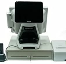 Restaurant Point of Sale System Featuring Pixel Point POS v19 - Includes Touchscreen PC, Receipt Printer, Cash Drawer, Credit Card Swipe Reader, and Kitchen Printer