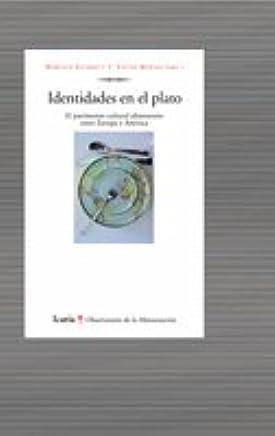 IDENTIDADES EN EL PLATO: Marcelo Alvarez: 9788474269703: Amazon.com: Books