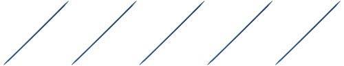 Boye 6307-5 5/3.75mm Double Point Aluminum Knitting Needles, 7'