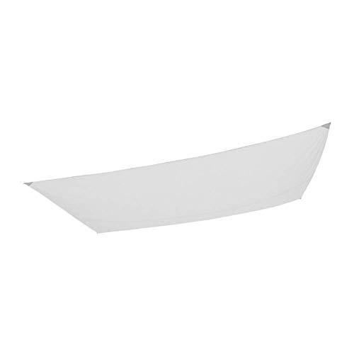 Aktive 61018 Toldo Vela Rectangular con protección UV50, Blanco, 200 x 300 cm