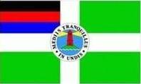 Borkum Insel Fahne Flagge Grösse 30x40cm mit Hohlsaum - FRIP –Versand®