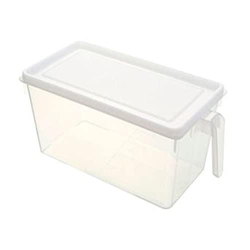 Contenedores de almacenamiento de despensa Organizador de refrigerador Bins Packable Fridge Organizadores para congelador Cabinas de encimeras de cocina Pantalla de almacenamiento de despensa