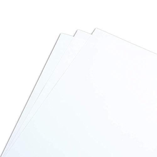 Clairefontaine 1857P - Pack de hojas, Blanco, A4, 125 hojas, 250 g/m2