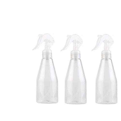 LATRAT - Lote de 3 frascos vaporizadores vacíos de plástico, vaporizador fino para jardín, planta, limpieza, peluquería, atomizador para viaje, limpieza, jardinería, cosméticos