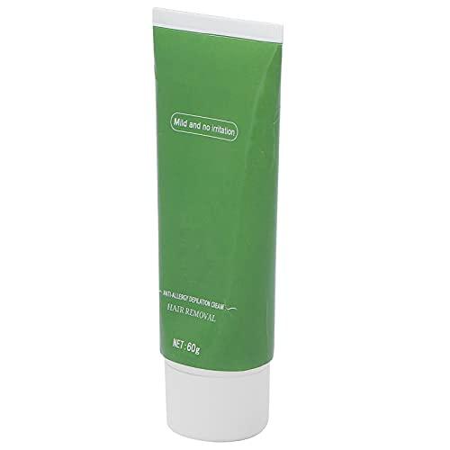 Nicht reizende Haarentfernungs-Creme, schnell und effektiv Enthält Grüntee-Extrakte Einfache Anwendung Entspannt die Poren Haarentfernungscreme für Körperbehaarung für Gliedmaßen