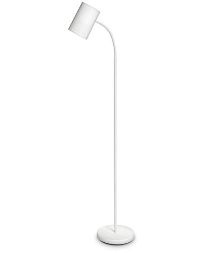 Philips Lighting Myliving Lámpara de Pie, Iluminación Interior para Salón O Habitación, Casquillo E27, color Blanco