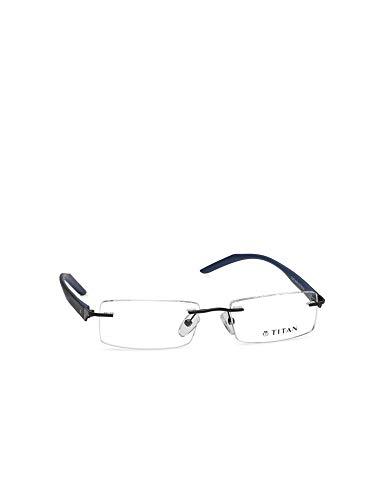 Titan Rimless Rectangular Men's Spectacle Frame - (T2267A1A1 51)