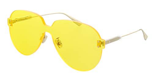 Dior Damen COLORQUAKE3-40G Sonnenbrille, Gold/Yellow, 99/1/145