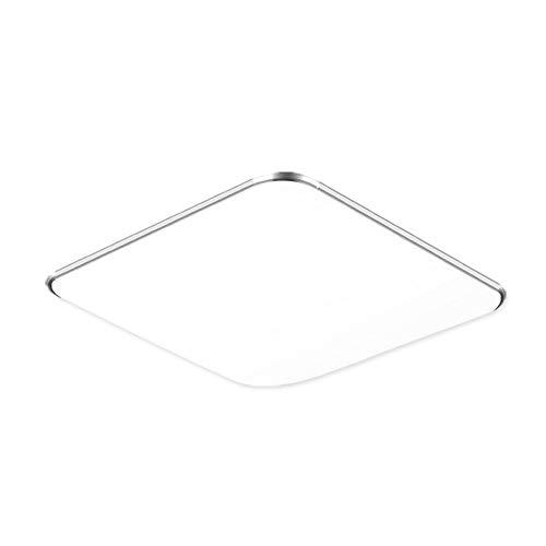 Fscm Plafoniere Moderne LED Lampada Lampadario per Soffitto Cucina Bagno Balcone Corridoio (Bianco Freddo (6000-6500K), 12W - 30x30cm)