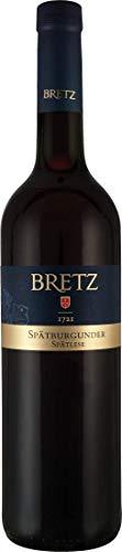 Ernst Bretz Spätburgunder Spätlese mild (1x 0,75l) Rotwein süß