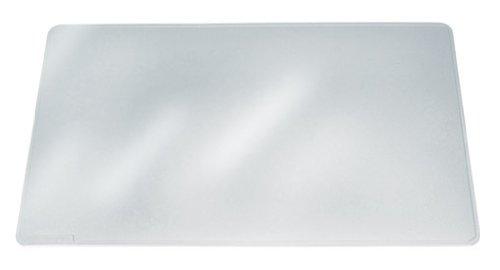 Durable 711119 Schreibunterlage Duraglas, 42 x 30 cm, rutschfest, blendfrei, transparent