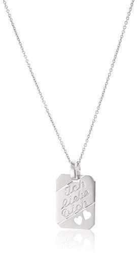 Xaana Collar con colgante de plata de ley 925 AMZ00240