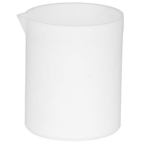 Juego de vasos, juego de vasos de plástico, PTEE de alta lubricación duradera para usar en experimentos de laboratorio(100ml)