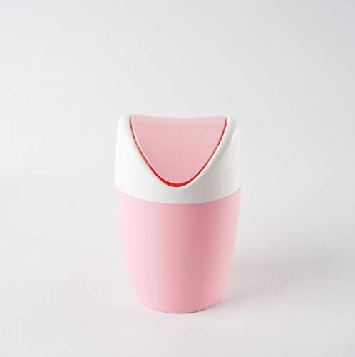 smilecstar Mini-desktop-kaptafel-kapstok, 1,5 l, 19,5 x 13 x 23 cm roze 2