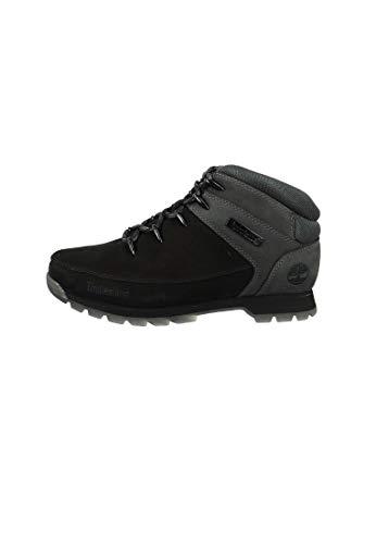 Timberland Herren Euro Sprint Hiker Chukka Boots, Schwarz (Black/Grey), 45.5 EU