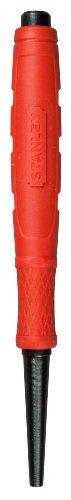 Stanley Nageltreiber Dynagrip (2,4 mm Durchmesser, induktionsgehärteter Stahl, abgeflachte Spitze) 0-58-913