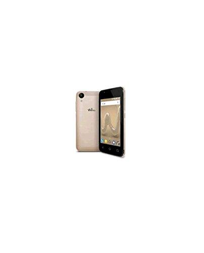 Wiko Sunny 2 10,16 cm (4 Zoll) Smartphone (5MP Kamera, 8 GB internen Speicher, 512 MB RAM, Dual-SIM, Android Marshmallow) gold