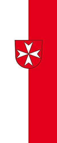 magFlags Drapeau Heitersheim | Portrait Flag | 3.5m² | 300x120cm